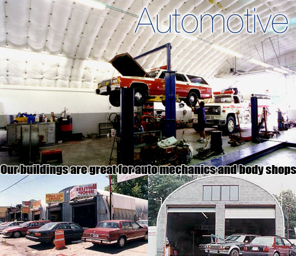 pre-fabricated auto body shops