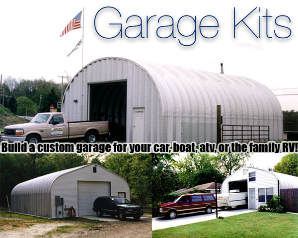 Metal garages prefab garage kits garage buildings prefab metal garage solutioingenieria Gallery