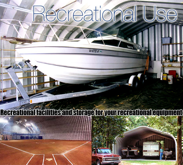 steel recreational buildings