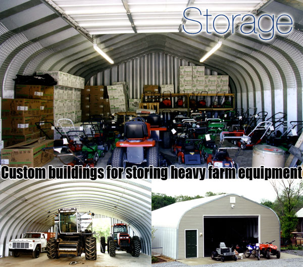 Steel Building Kits And Metal Buildings By Steel Building: Pre-engineered Steel Storage Sheds, Metal Arch Shed Kits